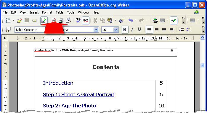 Edit your PDF template